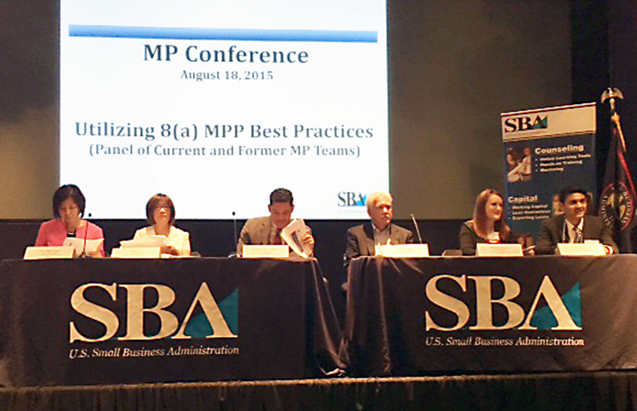 CBS Participates in the Small Business Administration's First Annual National Mentor-Protégé Conference Thumbnail