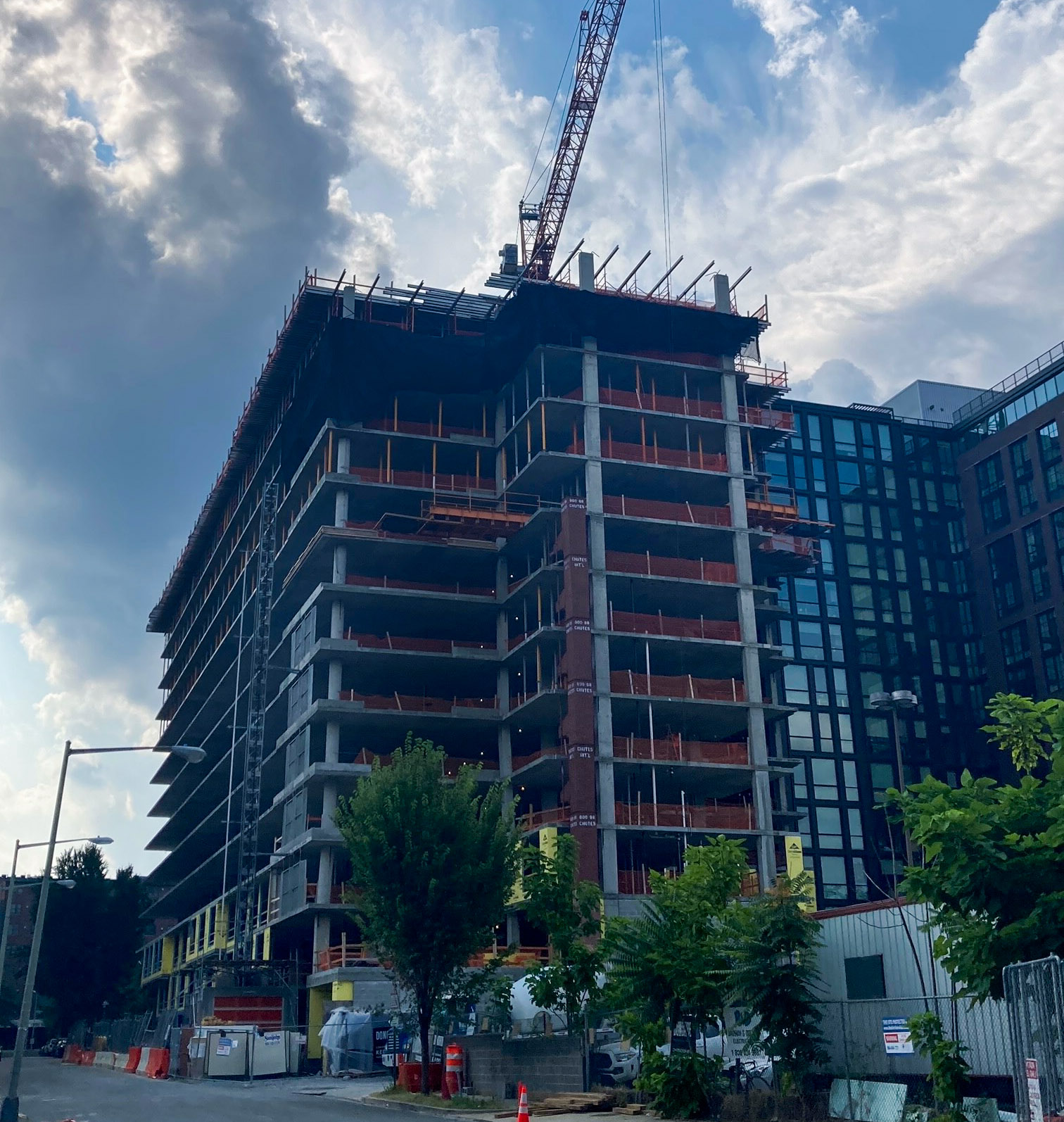 40 Patterson Street Celebrates Topping Out Thumbnail